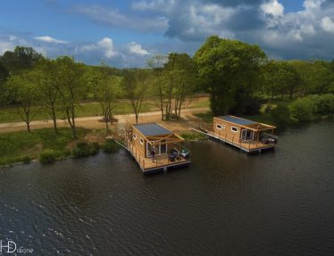 Houseboats for rent in Brittany